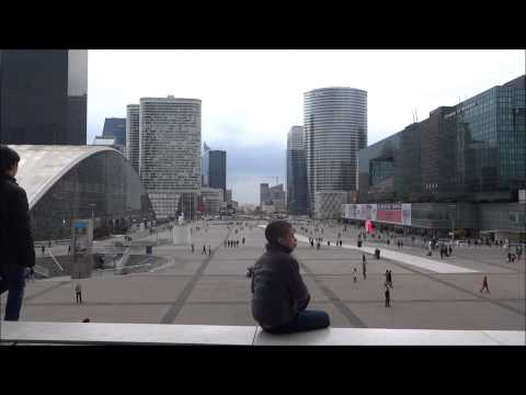 La Grande Arche Paris видео