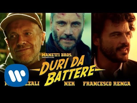 , title : 'Max Pezzali feat. Nek e Francesco Renga – Duri da battere (Official video diretto dai Manetti Bros.)'