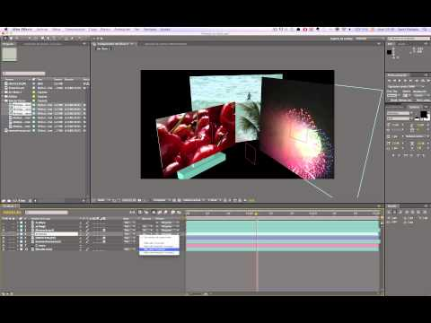 Tutorial Integración After Effects Cinema 4D