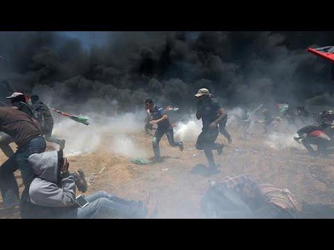 Φονικές συγκρούσεις στη Γάζα-Ξεπερνούν τους 40 οι νεκροί