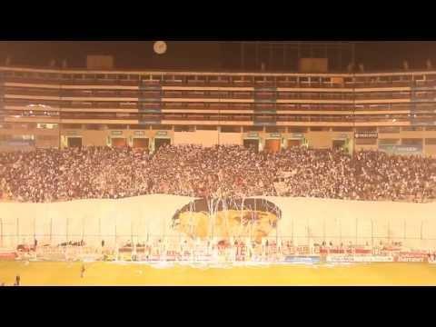 Video - Así se hizo el telón en homenaje al más grande: Lolo Fernández [HD] - Trinchera Norte - Universitario de Deportes - Peru
