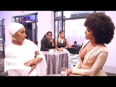 RHOA: NeNe Leakes Confronts Porsha Williams About Their Issues (Season 10, Episode 2)   Bravo