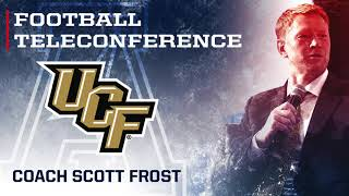 2017 Football Teleconference Week 13 - UCF Head Coach Scott Frost