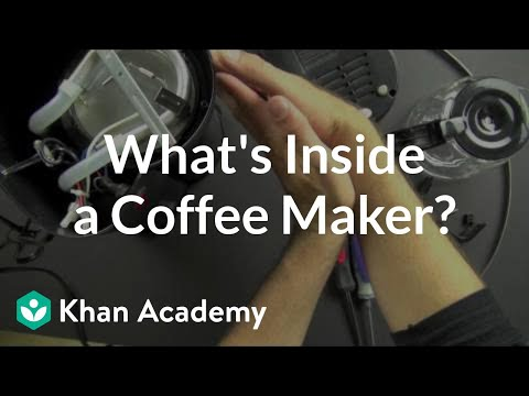 0 what is inside a coffee maker? (video) khan academy