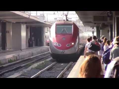 Frecciarossa 9412 Ride-on video w/ subtitle (フレッチャロッサ9412乗車録)