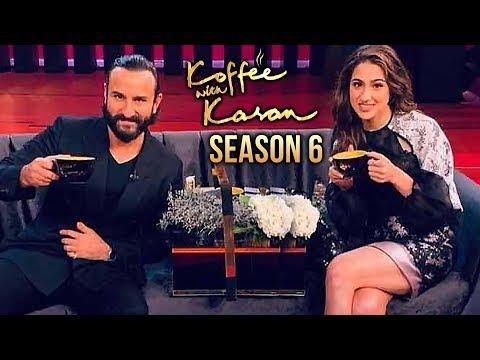 Sara Ali Khan And Saif Ali Khan Koffee With Karan