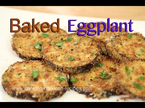 How To Make Baked Eggplant Taste Like Fried | Rockin Robin Cooks