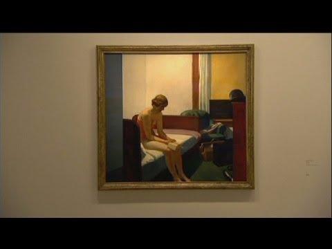 معرض للرسام الأمريكي إدوارد هوبر في باريس - فيديو