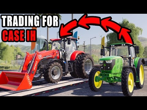 Video TRADING JOHN DEERE FOR CASE IH MAXXUM | LETS FARM #16 | FS19 download in MP3, 3GP, MP4, WEBM, AVI, FLV January 2017