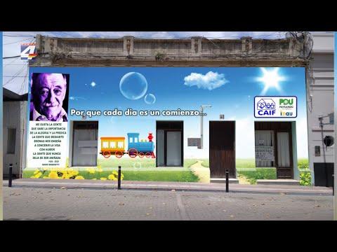 Intendencia remodelará fachada de los Centros CAIF