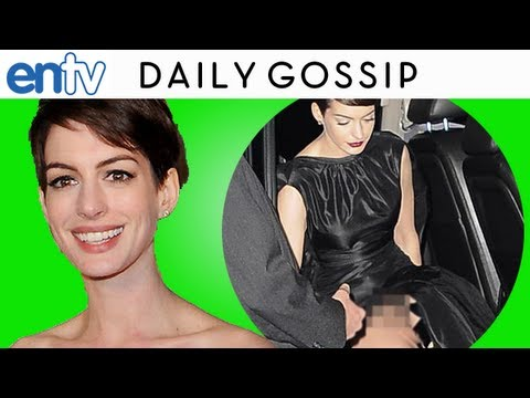 Anne Hathaway Apologizes For Epic Wardrobe Malfunction! ENTV