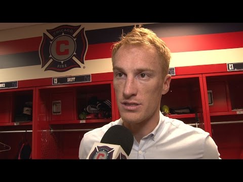 Video: Jeff Larentowicz on the Fire's 1-0 win over FC Dallas | Post Game