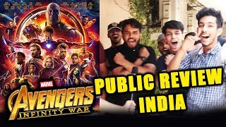 Video Avengers Infinity War PUBLIC REVIEW INDIA | First Day First Show | BLOCKBUSTER FILM MP3, 3GP, MP4, WEBM, AVI, FLV November 2018