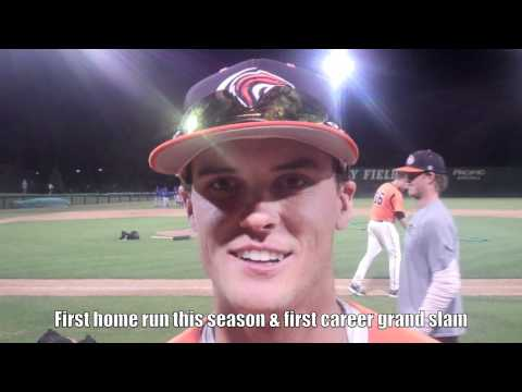 Baseball: Simms' Grand Slam vs Riverside