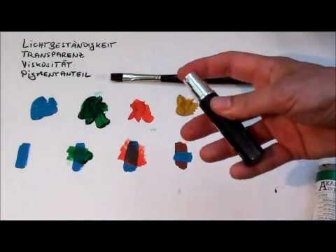 Tipps für Anfänger der Acrylmalerei (2): Farben