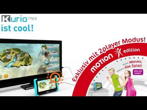 Kurio Tab2 Android Kindertablet mit Bewegungsspielen für zwei Spieler