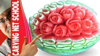 Video Art in watermelon, escultura em melancia, arte com melancia, watermelon roses MP3, 3GP, MP4, WEBM, AVI, FLV November 2018