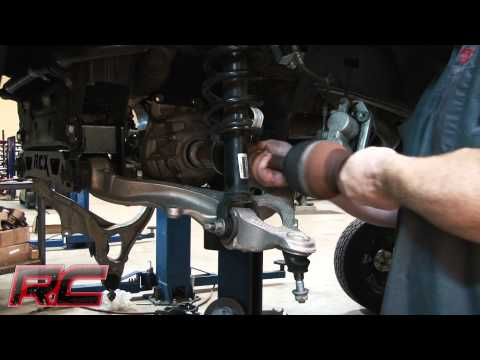 Rough Country's 12-14 Ram 1500 4″ Suspension Lift Kit Installation