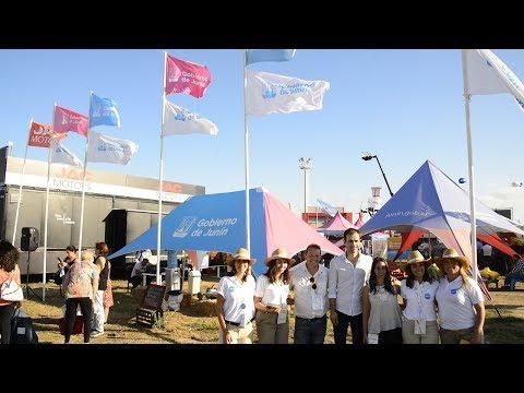 El stand de Junín visitado por miles de personas
