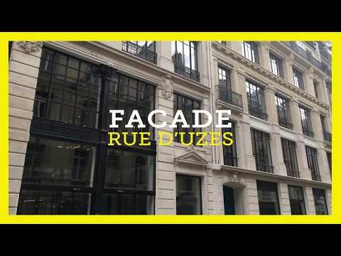 GCC réhabilite les bâtiments de la rue Uzes, Paris