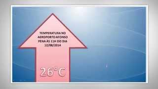 Após a tarde mais quente do inverno, a temperatura cai em Curitiba. Confira com o meteorologista César Soares. O Climatempo News é um jornal ...