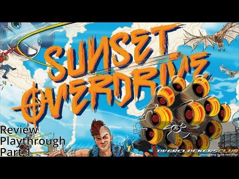 SUNSET OVERDRIVE PC THQ NORDIC
