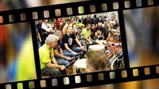 Pszczyna Poland  City pictures : XVth annual Pow-wow in Pszczyna, Poland - Drum line