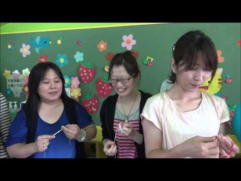 ともべ幼稚園「第2回しあわせ講座 コードブレスづくり」