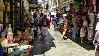 Corfu Island Greece  City new picture : The Bazaar of Corfu Old Town (Greece, 2015)