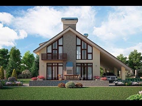 Реально красивые частные дома Архитектура домов (видео)