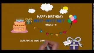 Selamat ulang tahun ke 11 N3 dari autocrack