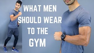 Video What to Wear When Going to The Gym! MP3, 3GP, MP4, WEBM, AVI, FLV November 2018