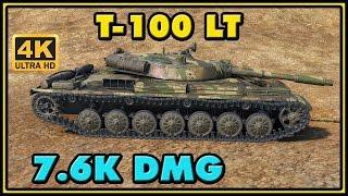 Nonton World of Tanks | T-100 LT - 7 Kills - 7,6K Damage - 1 VS 3 Gameplay Film Subtitle Indonesia Streaming Movie Download