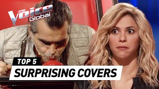 Video The Voice | SURPRISING COVERS in The Blind Auditions [PART 2] MP3, 3GP, MP4, WEBM, AVI, FLV Agustus 2018