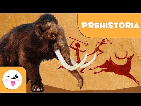 La Prehistoria - 5 cosas que deberías saber - Historia para niños
