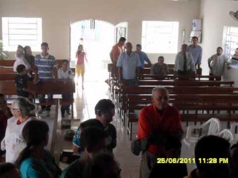 Batismo nas aguas em Tuparetama PE