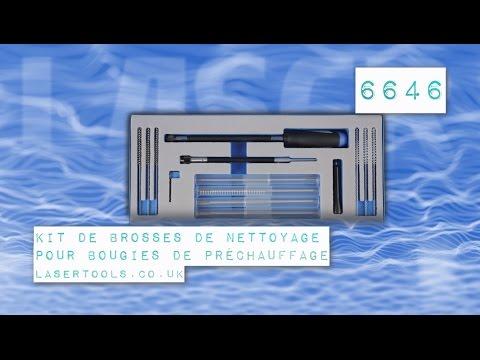 Kit de Brosses de Nettoyage pour Bougie de Préchauffage