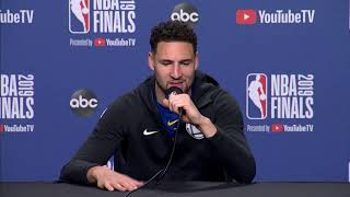 Klay Thompson Gets Real While Explaining His Respect for Steph Curry