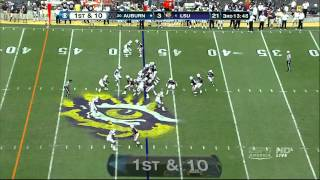Brandon Mosley vs LSU (2011)