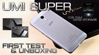 UMI Super (First Test & Unboxing) UMI's best phone? MTK6755 & 4GB RAM // by s7yler Video