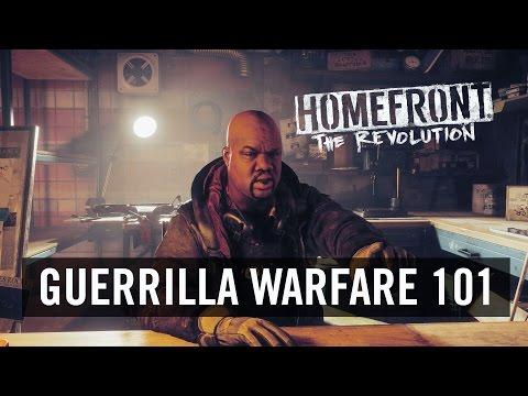 Lekcja taktyki i działań partyzanckich w grze Homefront: The Revolution
