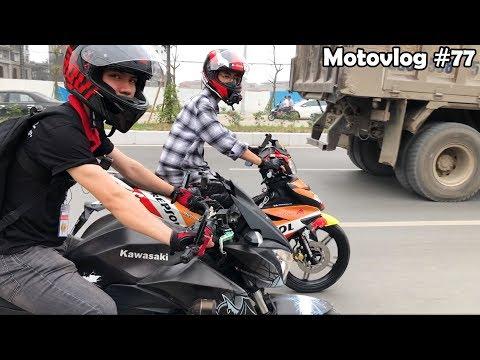 Z300 và Exciter 150 của Hiếu Dani dẫn đoàn roadshow sinh nhật Exciter Đi Để Trở Về | Motovlog 77 - Thời lượng: 11 phút.