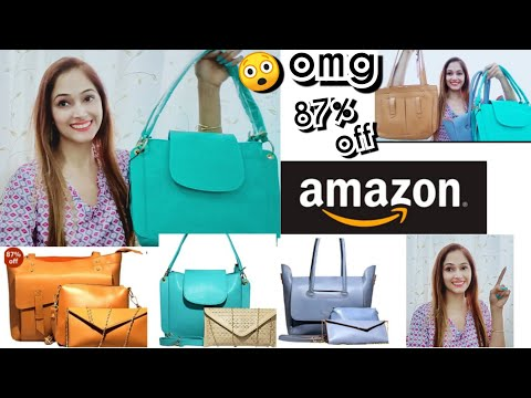 unboxing classic fashion handbag 87% discount k saath, Amazon handbag houl