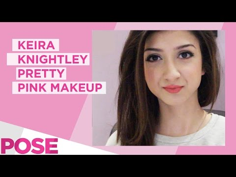 Keira Knightley Pretty Pink Makeup | Make Me Up 11