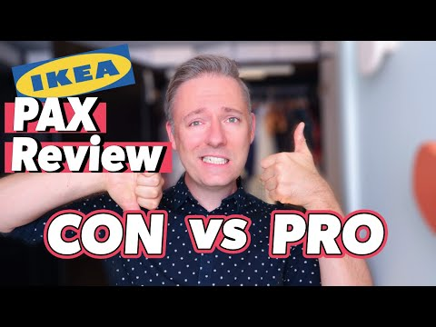 BRUTALLY Honest IKEA PAX Wardrobe Review | PROS & CONS | Should You Buy For Your Walk In Closet?