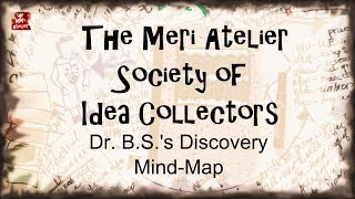 what did Dr. BS discover . . . mind-mapping my way through a brilliant (so-to-speak) art disovery . . . another idea for an art journal...