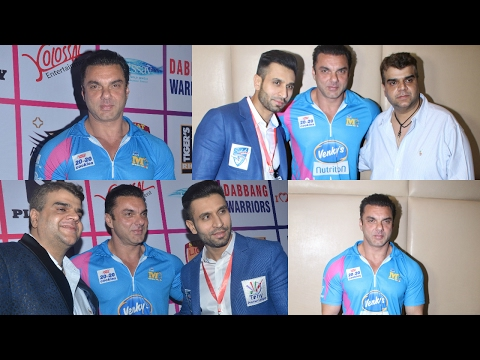 Sohail Khan At Launch Of Tony Premiere Leagues Upcoming Cricket Season