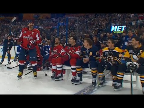 Video: Ovechkin wins 2018 NHL All-Star hardest shot with 101.3 MPH blast