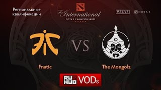 Fnatic vs Mongolz, game 1