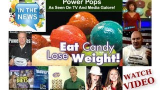 TV News Clips! Power Pops Weight Loss Lollipops With Hoodia&Kids Pops Vitamins On A Stick
